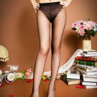 S020 - Stocking Pantyhose Hitam Model Segi Tiga - Thumbnail 1