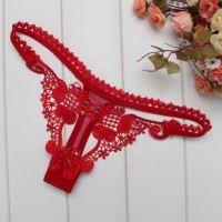 GS139 - Celana Dalam G-String Wanita Merah