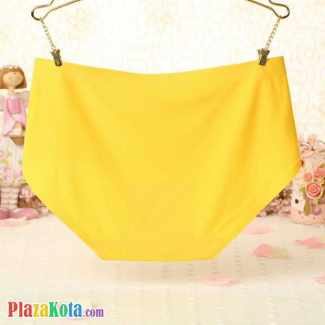 P258 - Celana Dalam Panties Hipster Seamless Kuning - Photo 2