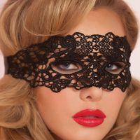 A010 - Mask Topeng Wajah Penutup Mata Hitam