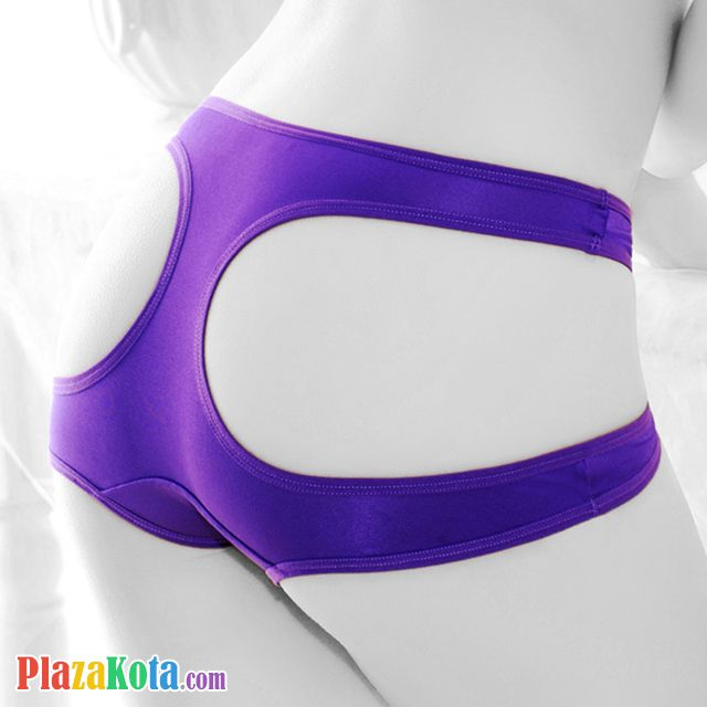P323 - Celana Dalam Panties Boyshort Ungu - Photo 2