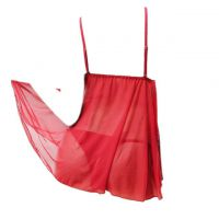L1003 - Lingerie Babydoll Merah Transparan, Panties Ikat Samping - Thumbnail 2