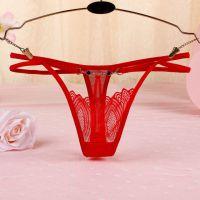 GS342 - Celana Dalam G-String Wanita Tali 2 Merah - Thumbnail 1