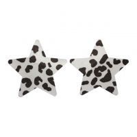 N050 - Nipple Cover Disposable Bintang Dalmation Putih
