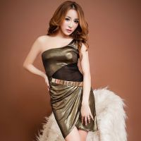 CW014 - Night Club Wear Gold, Aksesoris Plat Gold